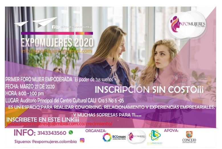 Poster expomujeres 2018